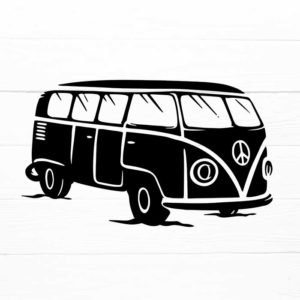 Camping Truck SVG