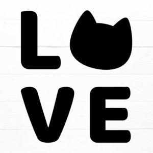 Cat Love SVG 1