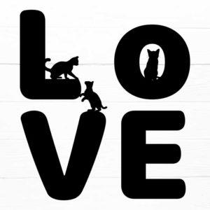 Cat Love SVG V.2